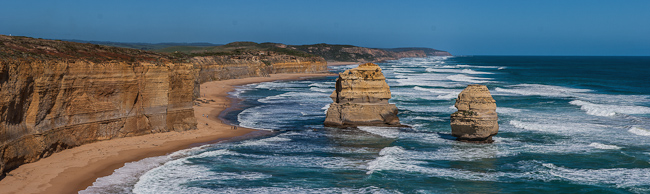 Southern Ocean and Victoria cost along the Great Ocean Road